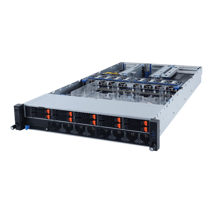2‎U Quad Processors Rack-mount Server