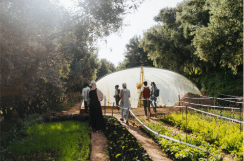 How does HAF build a bridge of trust and strengthen the voices of the Moroccan community?