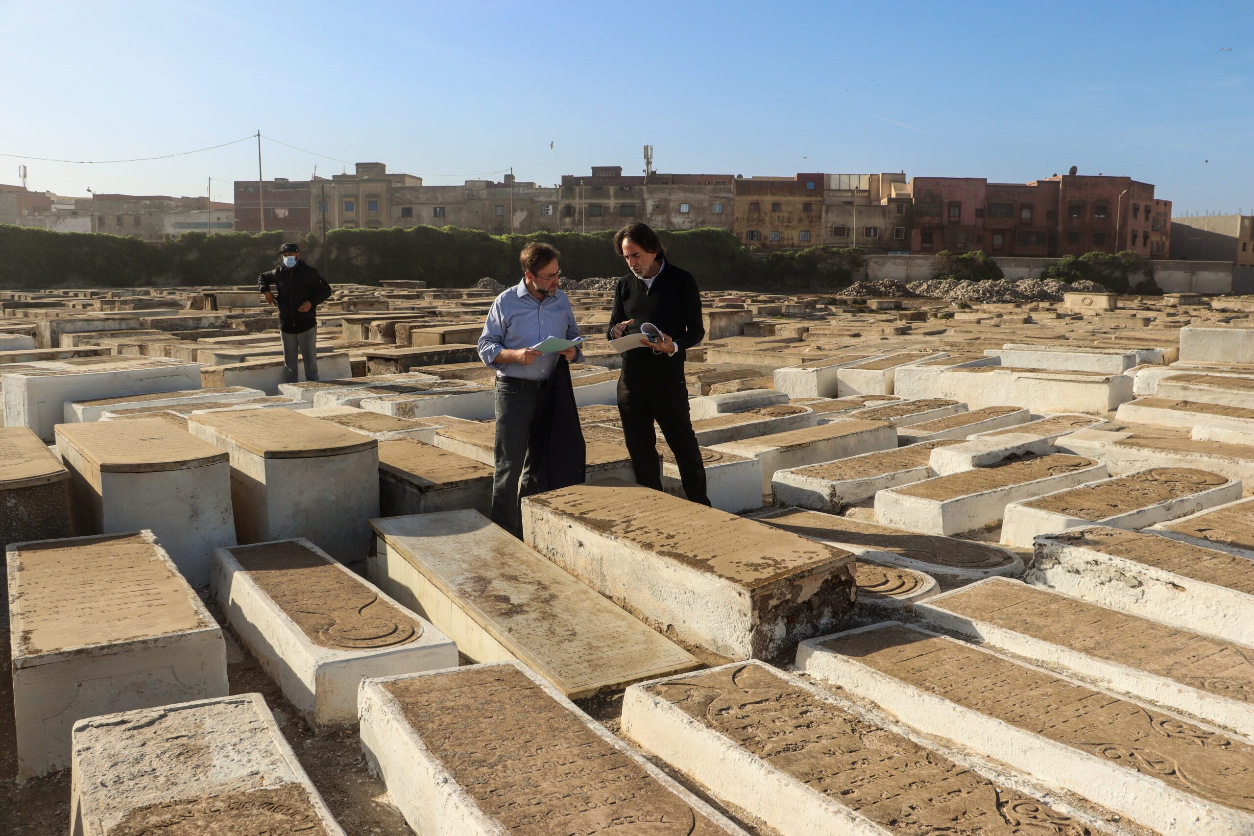 Visiting Essaouira's Past and Present with U.S. Chargé d'Affaires David Greene
